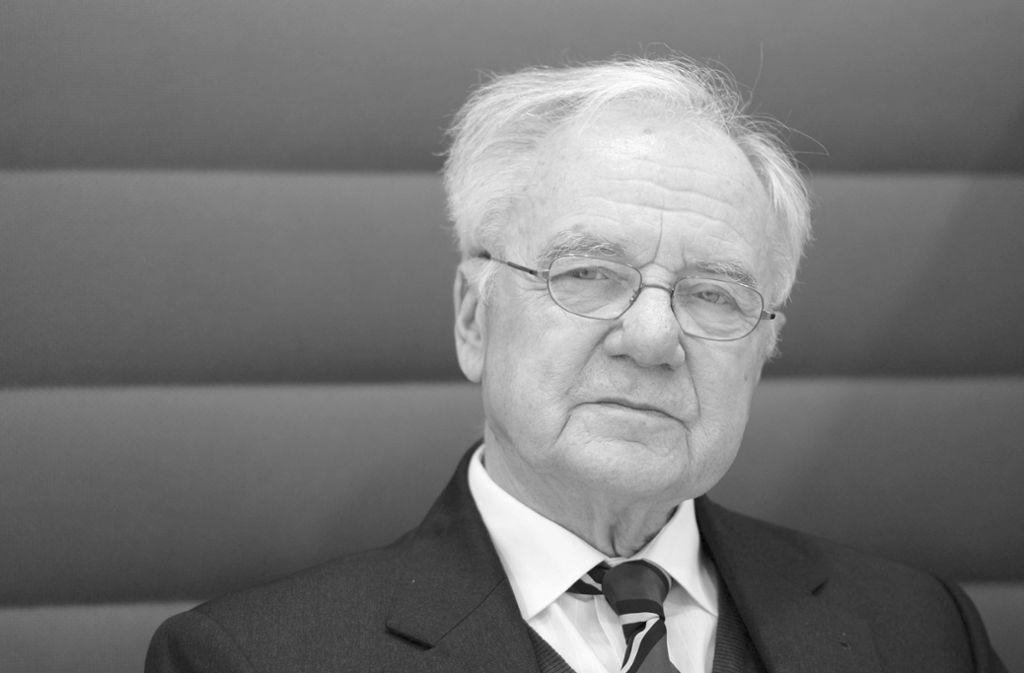 Am Dienstag fand die Gedenkfeier von Manfred Stolpe statt. Foto: dpa/Ralf Hirschberger