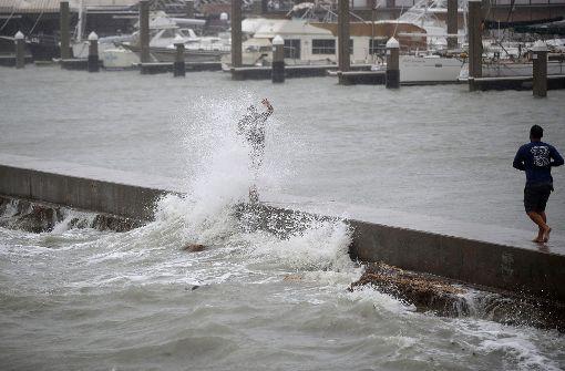 """Hurrikan """"Harvey"""" gewinnt an Kraft"""