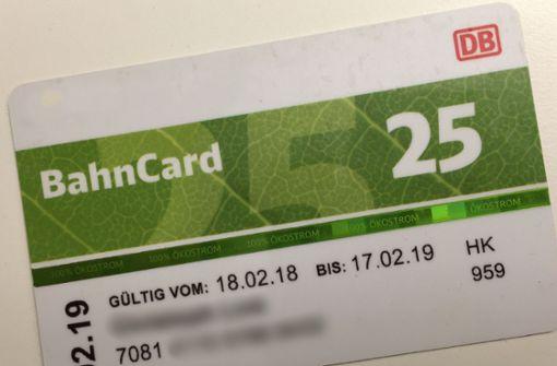 Für den Partner wird die Bahncard sehr viel teurer