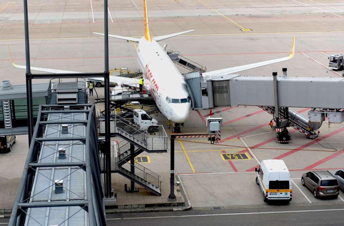 Der Flugbetrieb  bewegt sich noch auf niedrigem Niveau. Foto: 7aktuell.de/Tim Schips