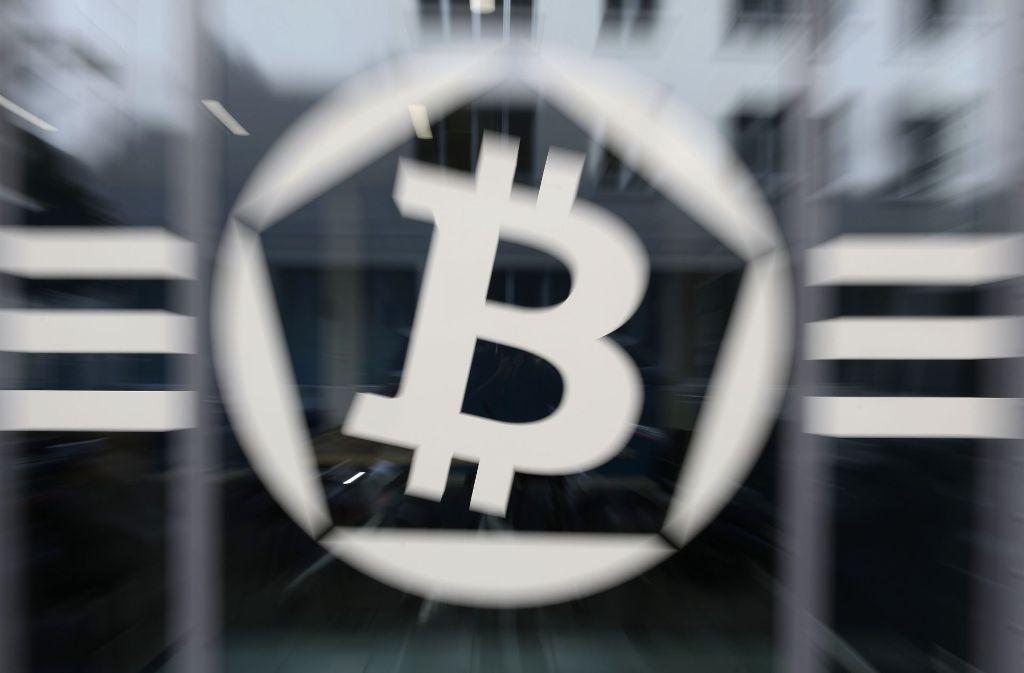 Bitcoin und andere Kryptowährungen sind stark umstritten. Foto: AFP