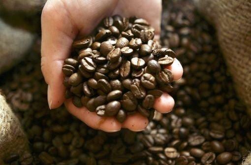 Kiloweise Kaffeebohnen - offenbar eine begehrte Beute Foto: AP