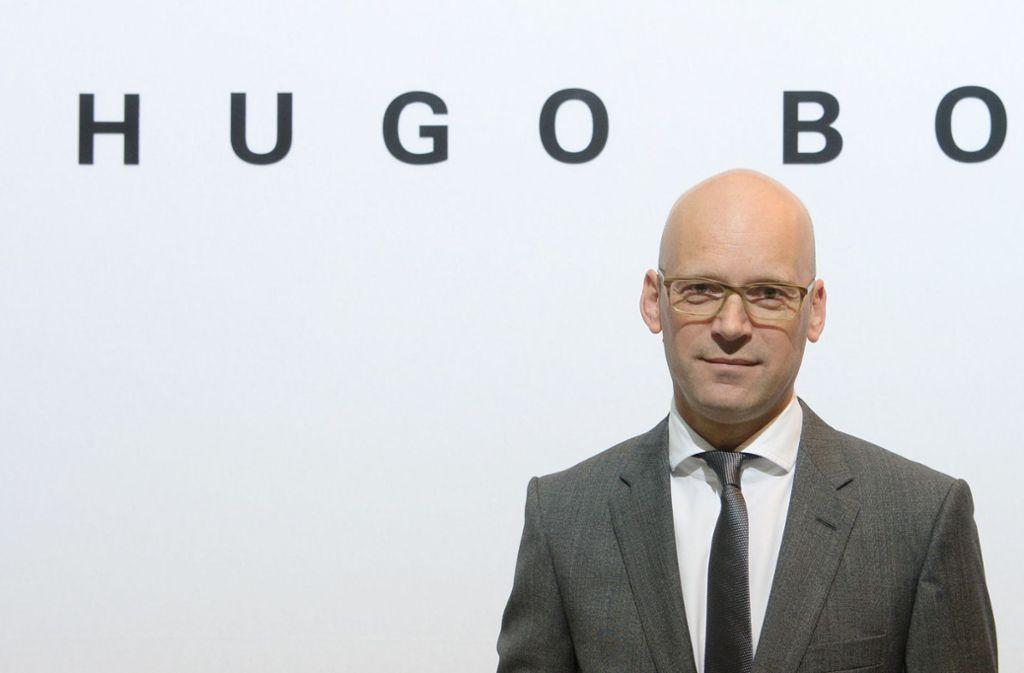 Der Vorstandsvorsitzende der Hugo Boss AG, Mark Langer, wird Hugo Boss verlassen. Foto: dpa/Franziska Kraufmann