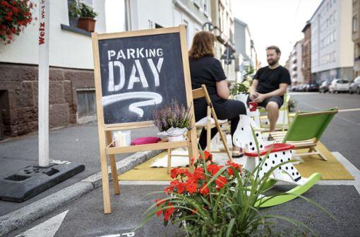 Warum heute auf einigen Parkplätzen keine Autos stehen