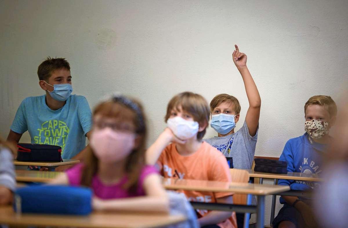 Werden die Schulen in Baden-Württemberg einen Regelbetrieb aufnehmen können – trotz Pandemielage? Foto: dpa/Gregor Fischer
