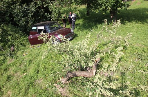 Mini kracht gegen Baum – drei Schwerverletzte