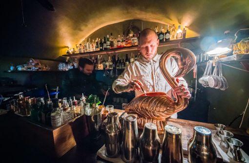 """""""The Kinly Bar im Bahnhofsviertel"""": Experimentelle Drinks im Gewölbekeller"""
