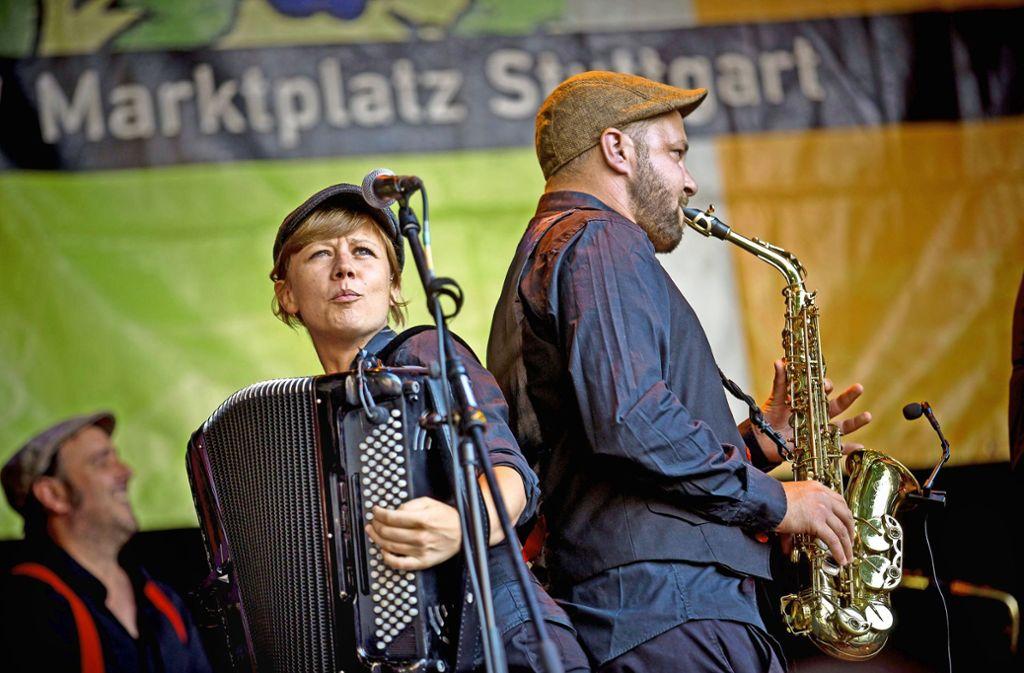 Temperamentvoll und melancholisch erklingen Saxofon und Banjo. Foto: Lichtgut/Leif Piechowski