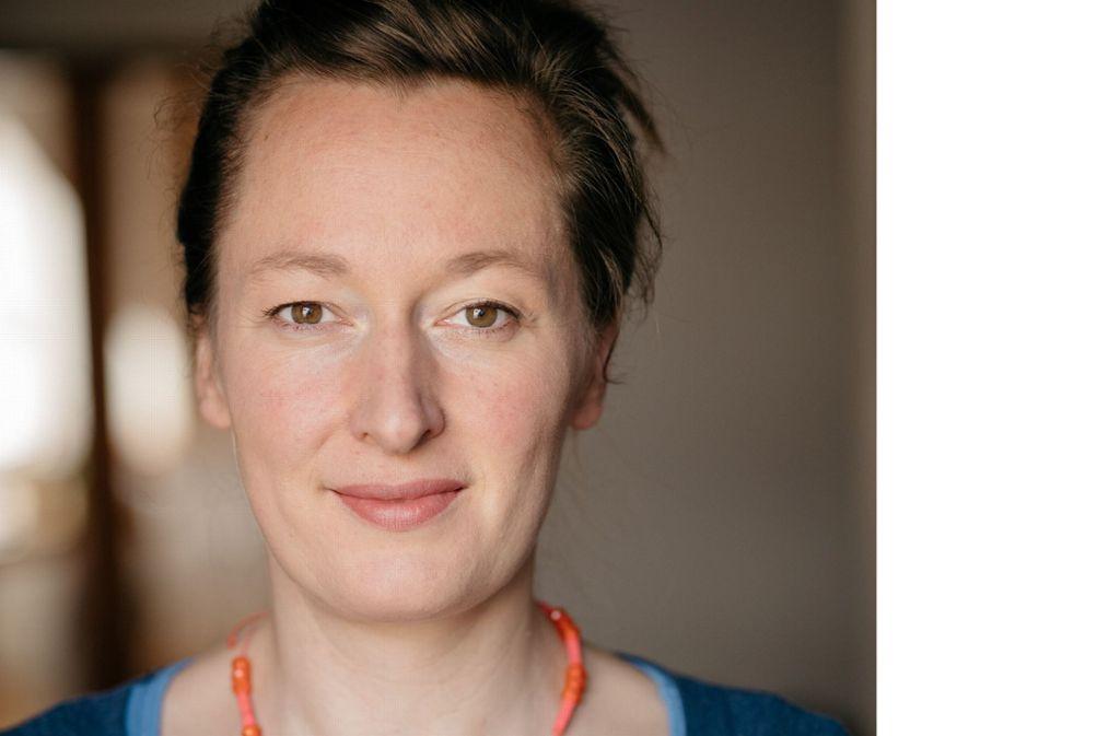 """Barbara Yelin ist eine der profiliertesten deutschen Comic-Zeichnerinnen. Im Literaturhaus Stuttgart stellt sie zusammen mit dem Autor Thomas von Steinaecker die Graphic Novel """"Der Sommer ihres Lebens vor"""". Foto: Martin Friedrich"""