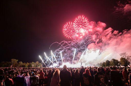 Feuerwerks-Show spaltet die Netzgemeinde