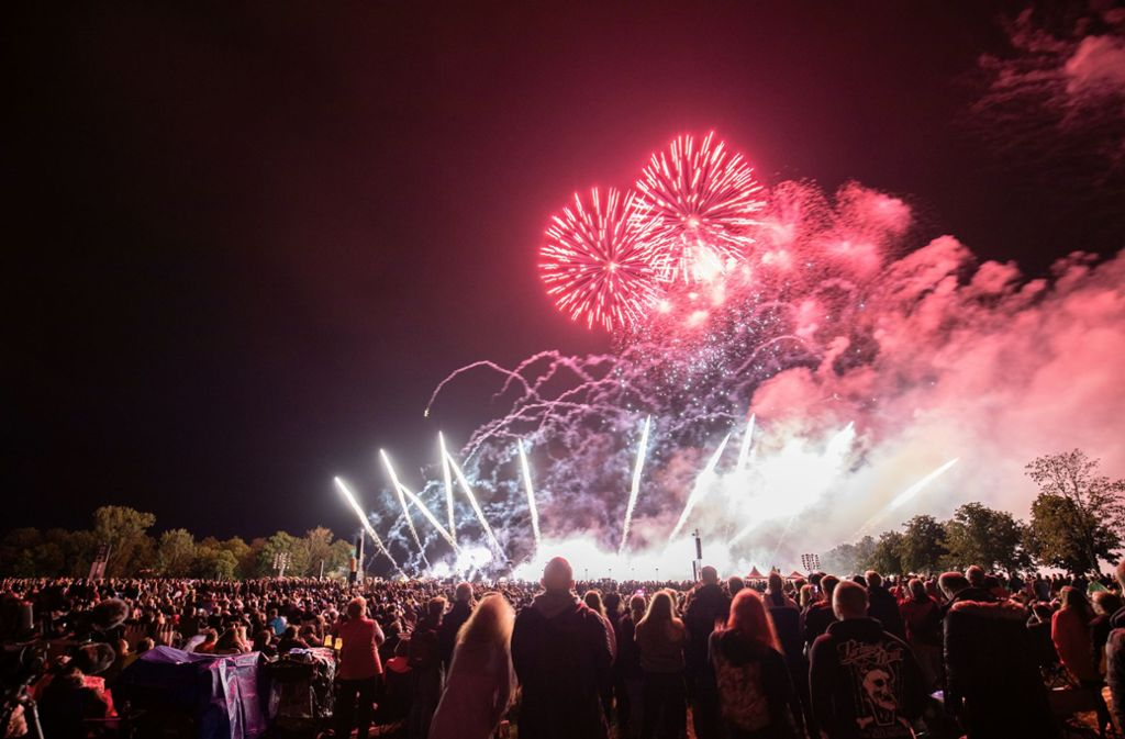 32 000 Besucher wohnten der Show in Ostfildern bei. Foto: Michael Steinert