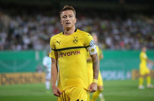 Borussia Dortmund schrammt an Blamage gegen SpVgg Greuther Fürth vorbei