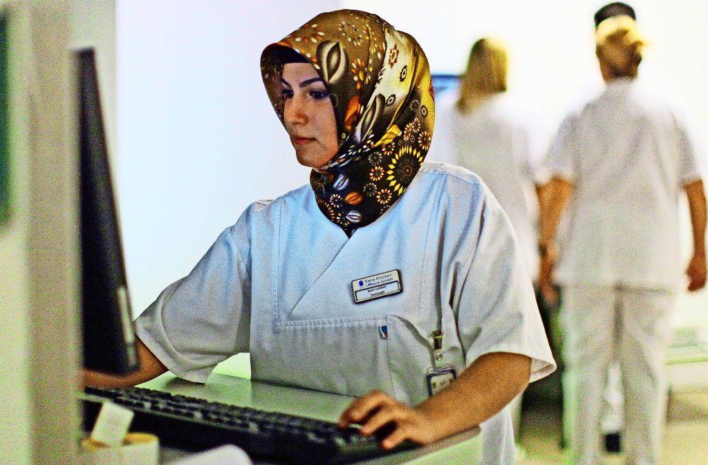 Muslime sind schon jetzt ein wichtiger Teil der deutschen Gesellschaft. Ihre Zahl wird  in den kommenden Jahren weiter steigen. Foto: dpa