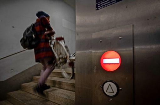 Endstation Aufzug