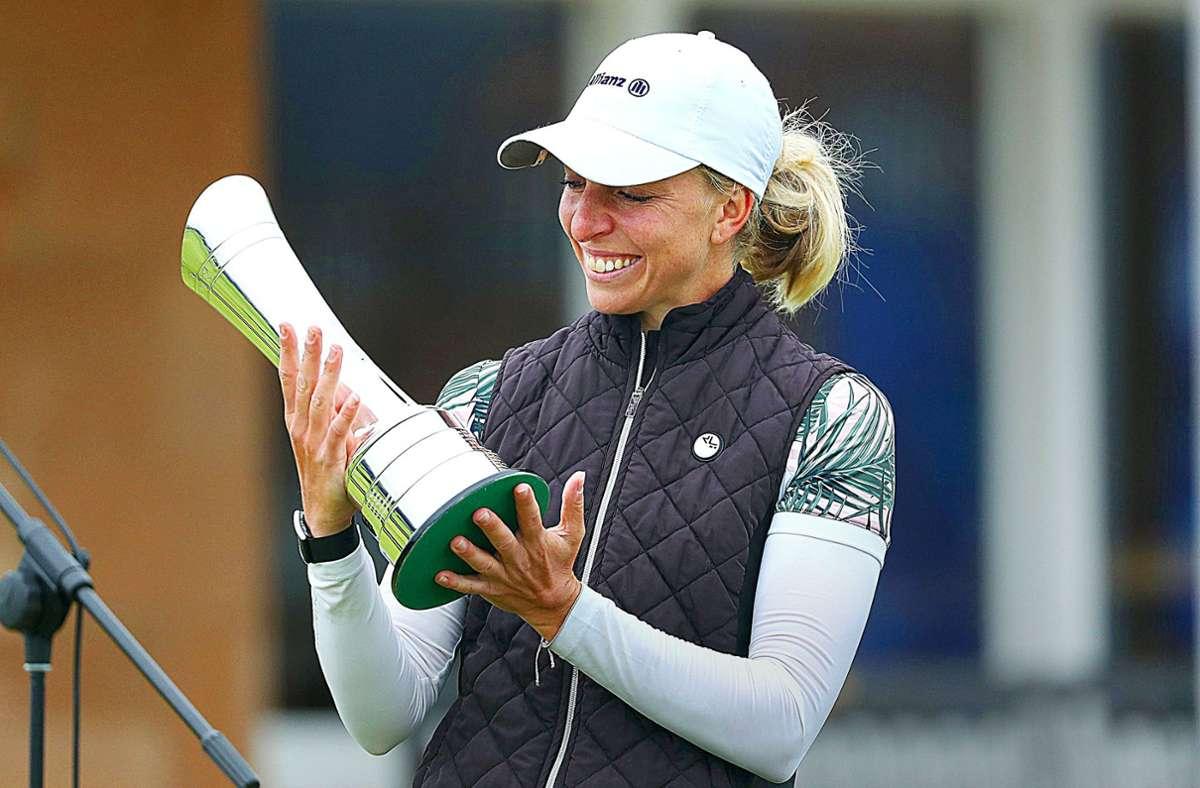 Sophia Popov wollte schon aufhören – gut, dass die Golferin es nicht gemacht hat. Foto: dpa/golfsupport.nl