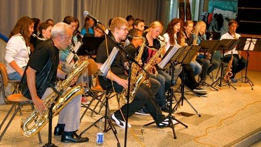 Jazzmusik macht Schule