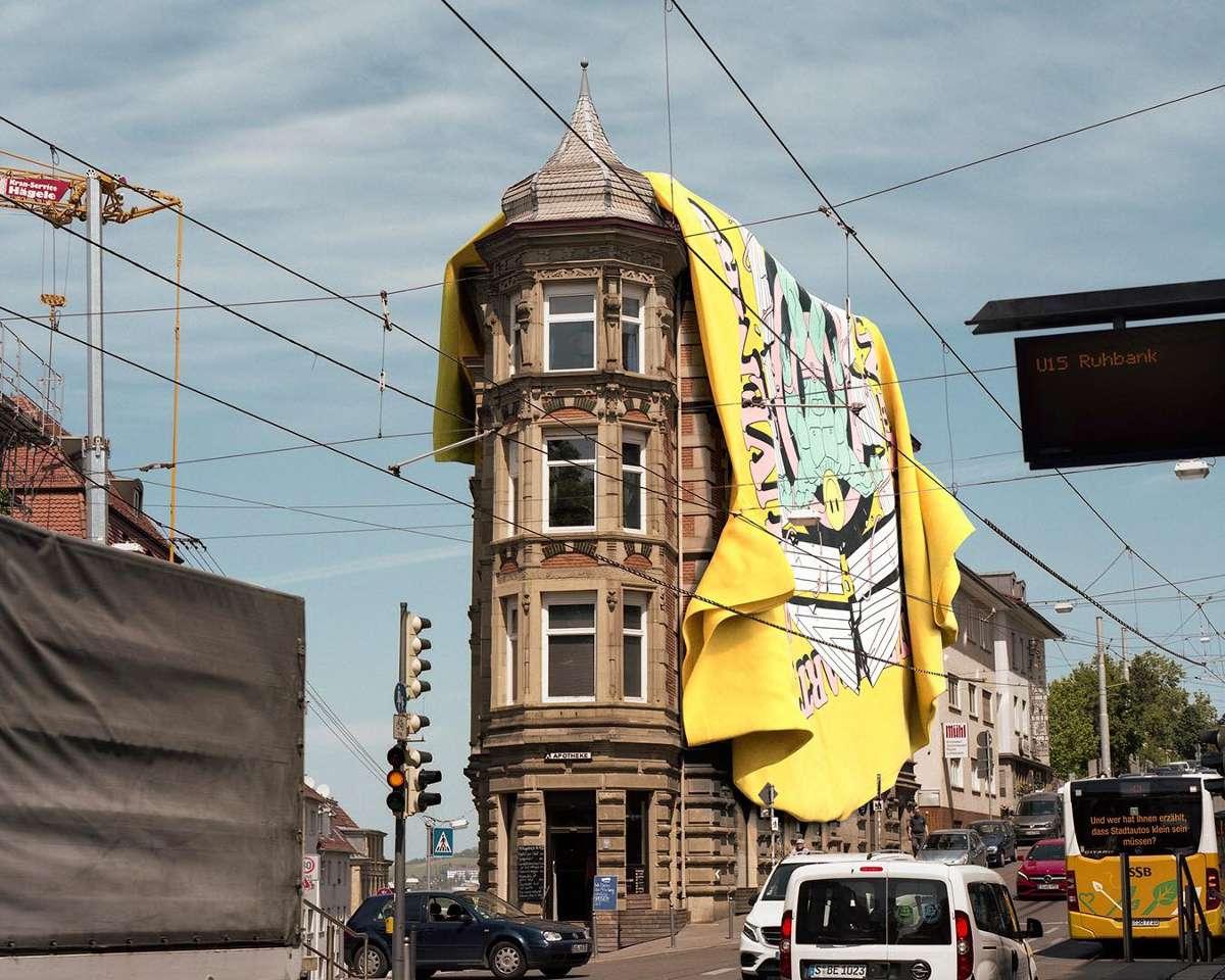 Stuttgart wird aktuell – im wahrsten Sinne des Wortes – von Shirts geflutet. Wir stellen euch die Brands aus dem Kessel vor. Foto: Stuttgart Souvenirs / Frederik Zieher (Foto) und Oliver Kentner (3D)