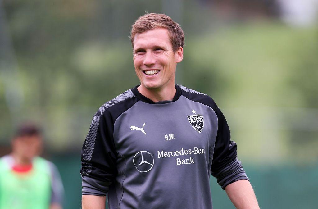 Hannes Wolf hat gut lachen: Seine Mannschaft zieht super mit und wird nun mit einem freien Nachmittag belohnt. Foto: Pressefoto Baumann