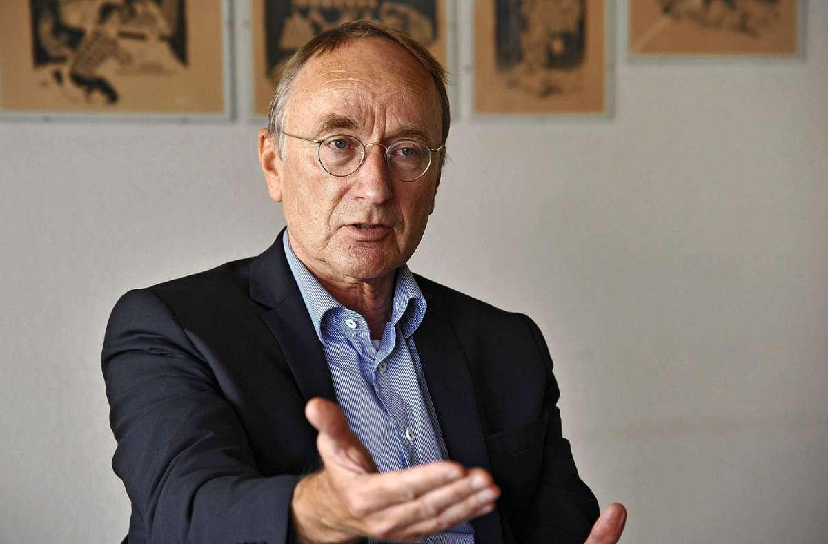 8 Jahre lang OB in Sindelfingen, dann im auswärtigen Dienst tätig: Joachim Rücker Foto: /Bischof