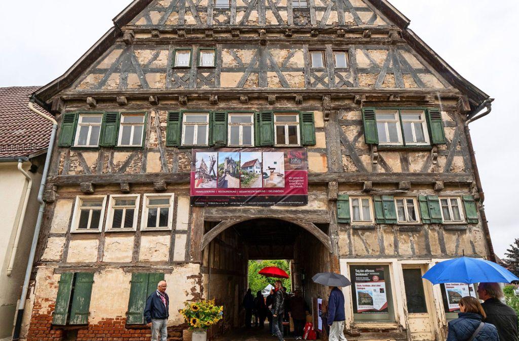 Der Alte Löwe in Ehningen hat eine bewegte Vergangenheit. Foto: factum