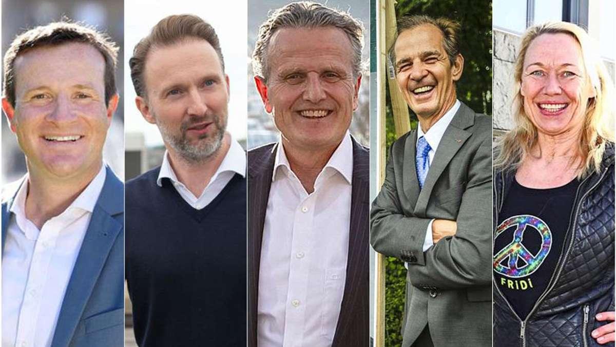 Die Stuttgarter OB-Kandidaten mal ganz persönlich