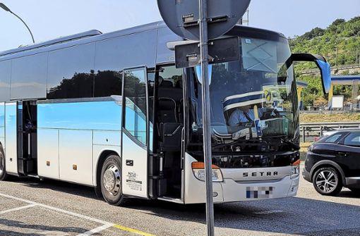 Busunternehmen hält Unterlagen zurück