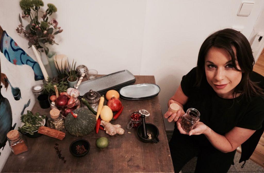 Neu bei der Soulkitchen dabei: Gastronomin Anky Garbas, die Kräuter und Gewürze liebt.  Foto: Tanja Simoncev