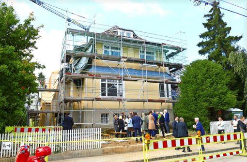Umbau der Hölzel-Villa dauert bis 2022