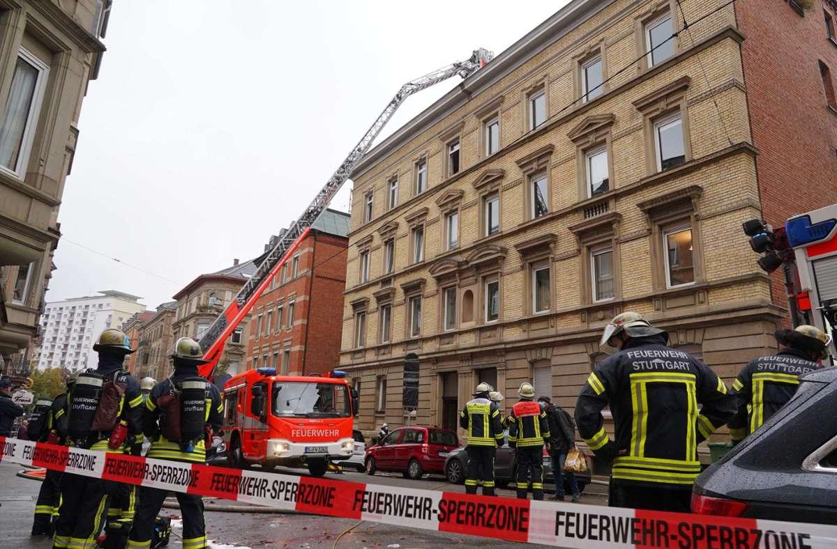 In Stuttgart-Mitte hat es am Donnerstag gebrannt. Foto: Andreas Rosar/Fotoagentur-Stuttgart