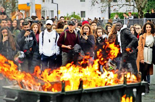 Frankreich fürchtet die Eskalation