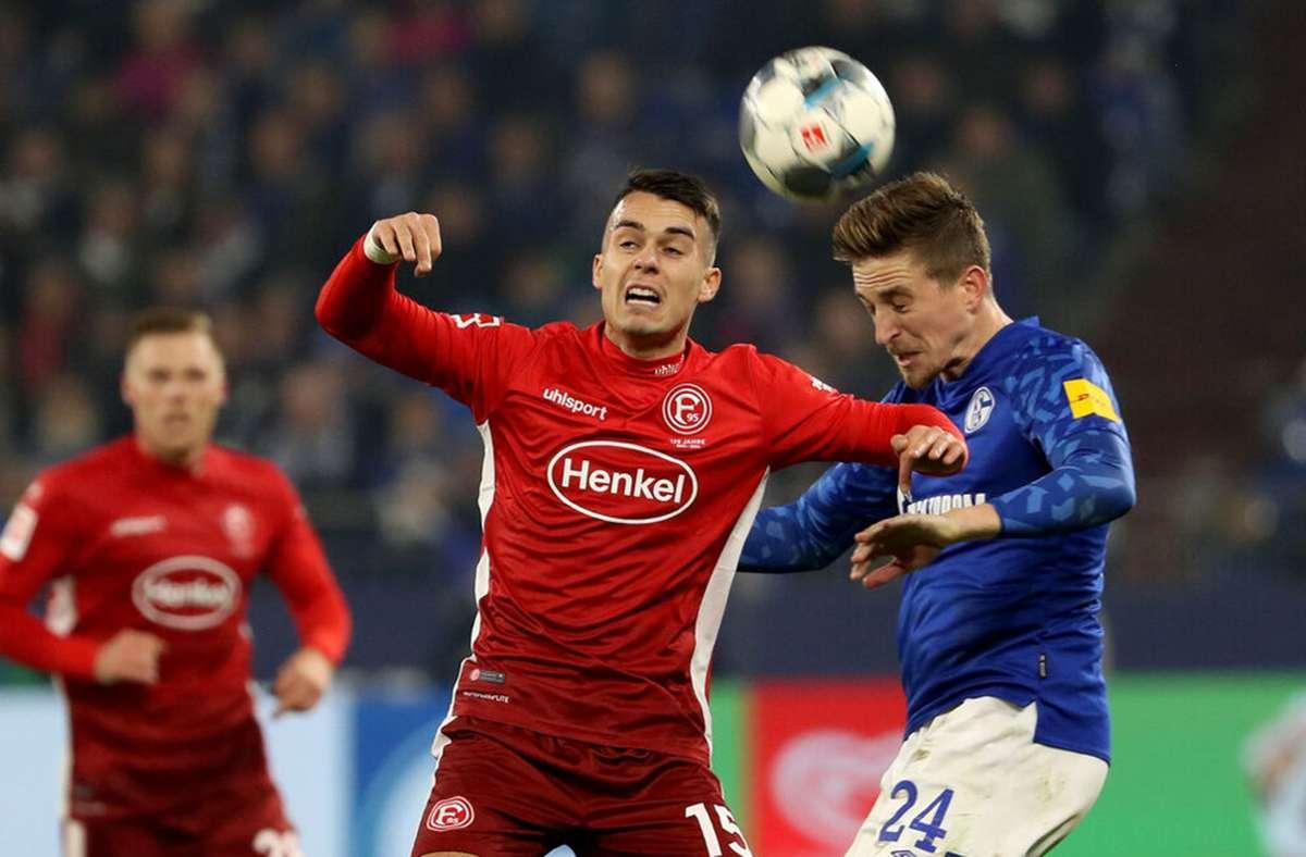 Zweiter Abstieg in Folge: Erik Thommy im Trikot von Fortuna Düsseldorf Foto: imago/Jan Huebner