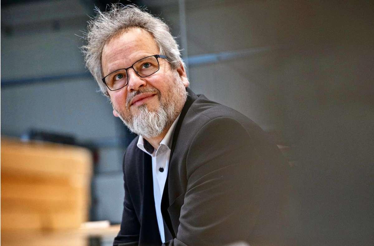 Wolfgang Sartorius hilft Notbedürftigen und kämpft für ihre Menschenwürde.Foto:Gottfried Stoppel Foto:
