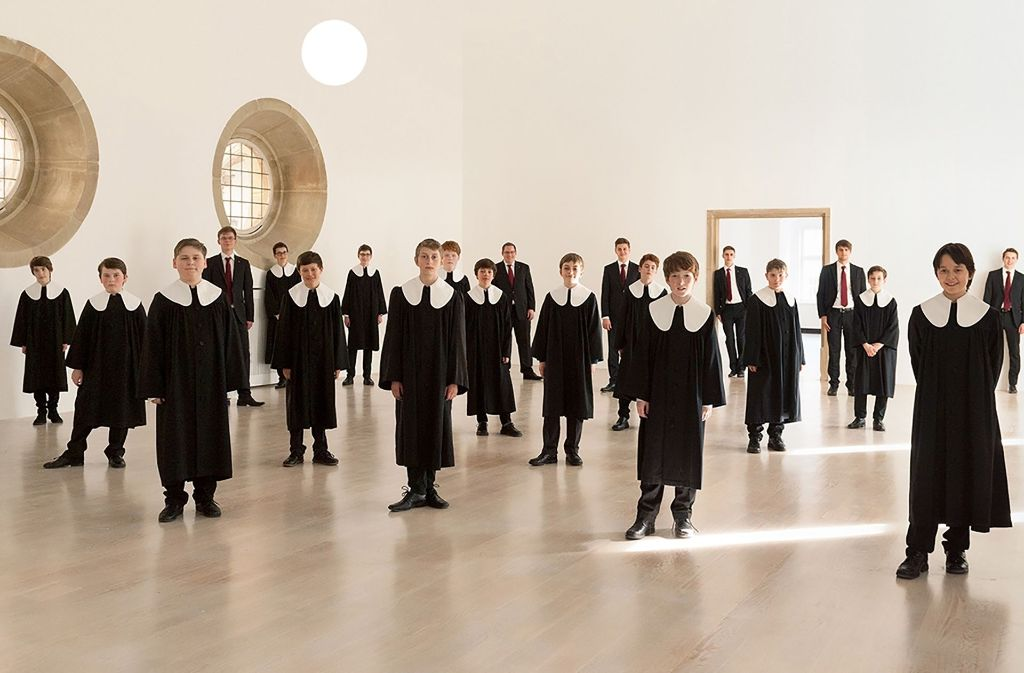 Die Stuttgarter Hymnus-Chorknaben Foto: Chor