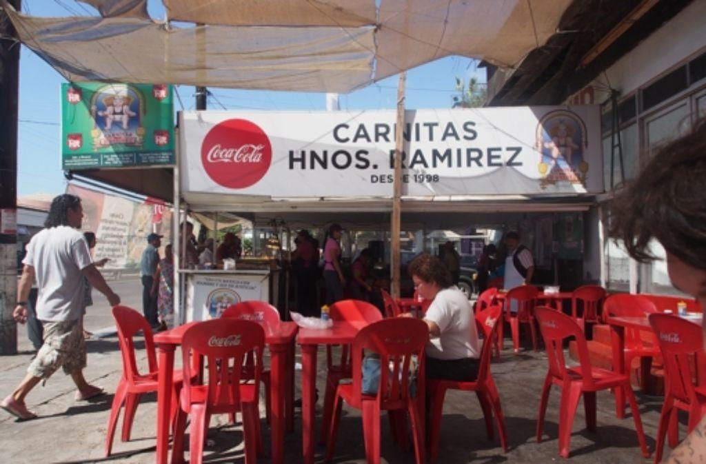 Streetfood in Mexiko. Foto: Eva Horn