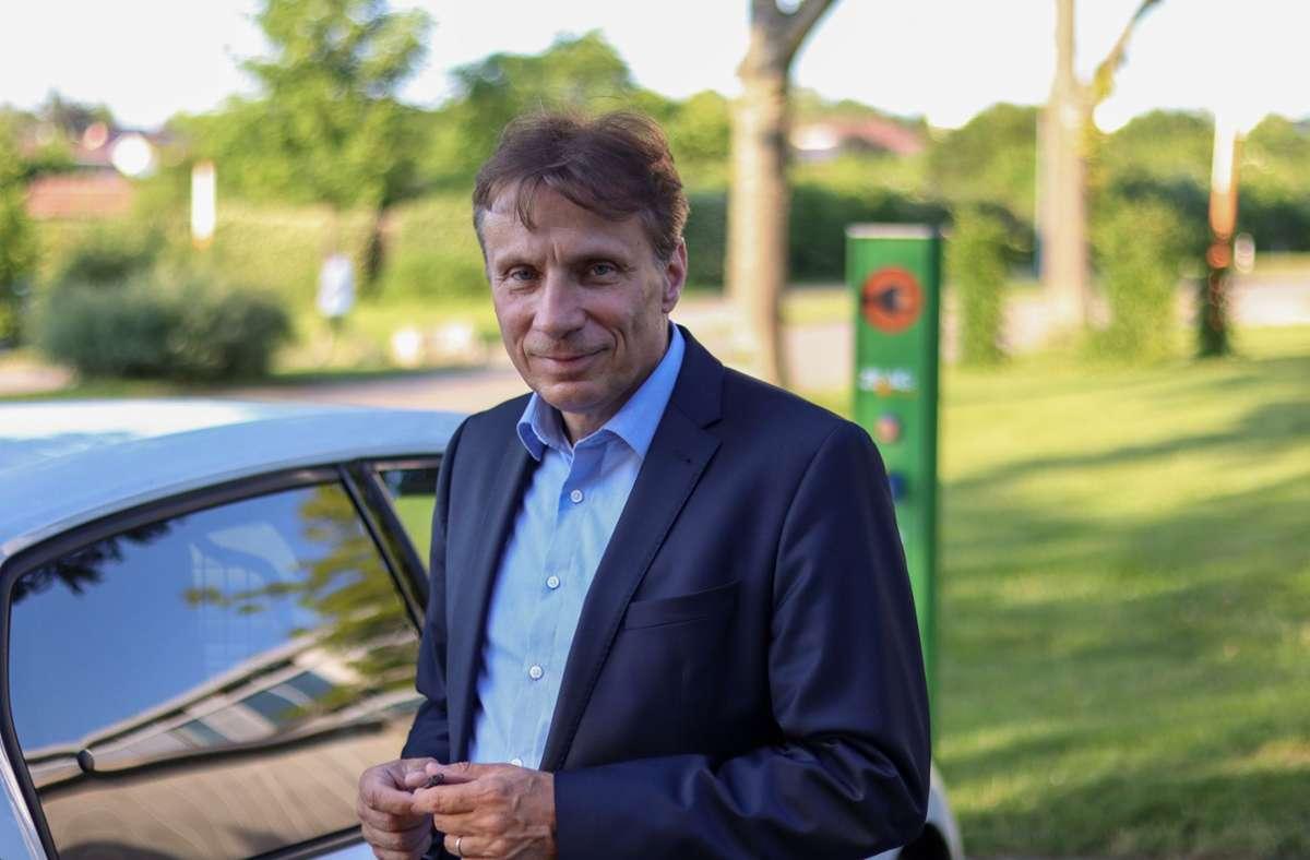 Professor Andreas Daberkow denkt bei der Elektromobilität auch an die Umwelt. Foto: privat