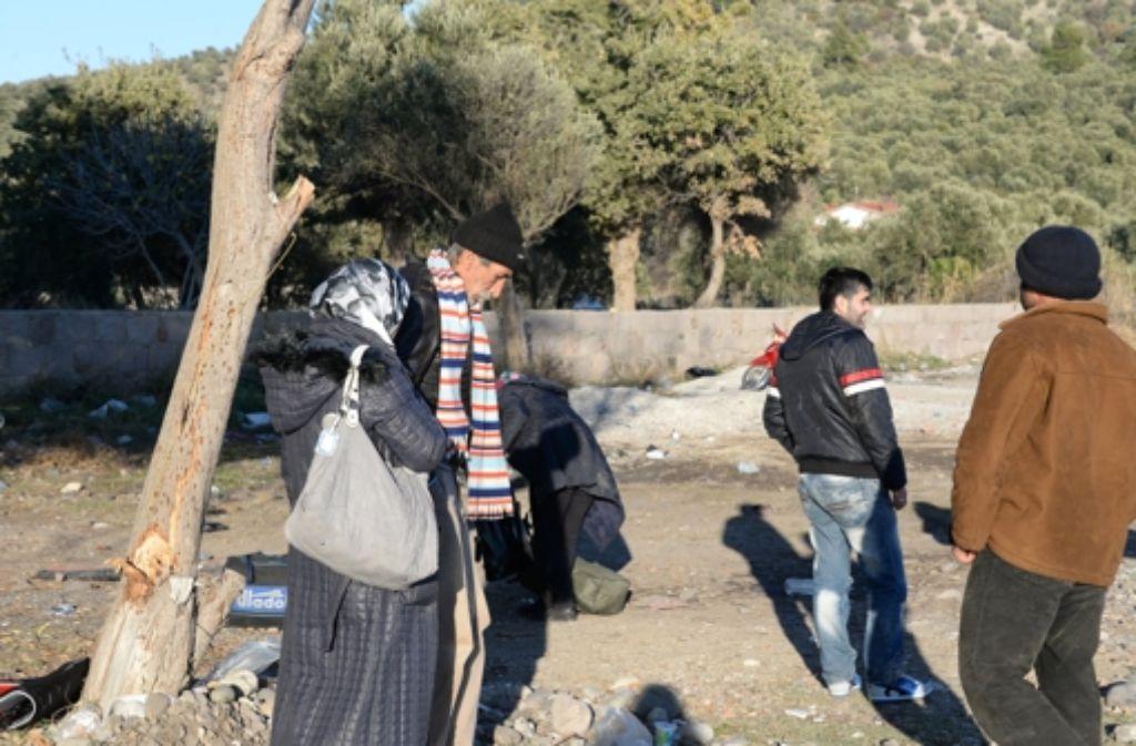Illegale Flüchtlinge