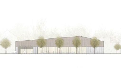 Die Pläne für die neue Halle stehen fest