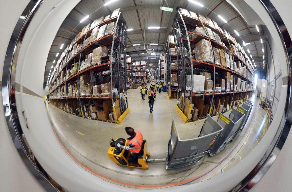Bei Amazon in Pforzheim sollen 500 Saisonkräfte eingestellt werden. Foto: dpa