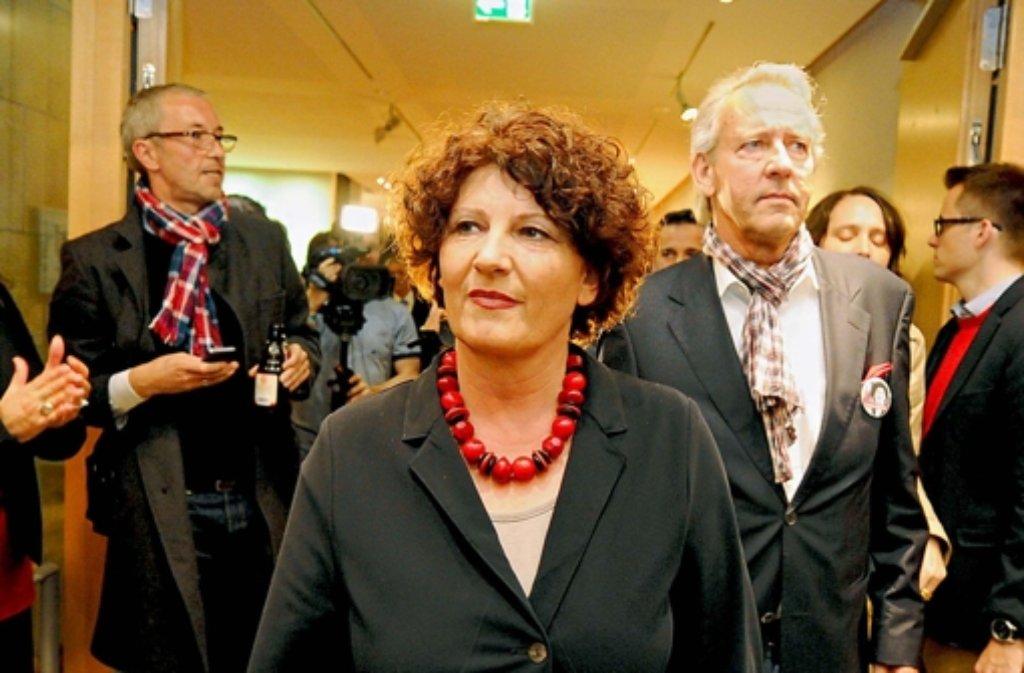 Bettina Wilhelm will am Montag erklären, ob sie bei den Neuwahlen noch einmal antreten will. Foto: dpa