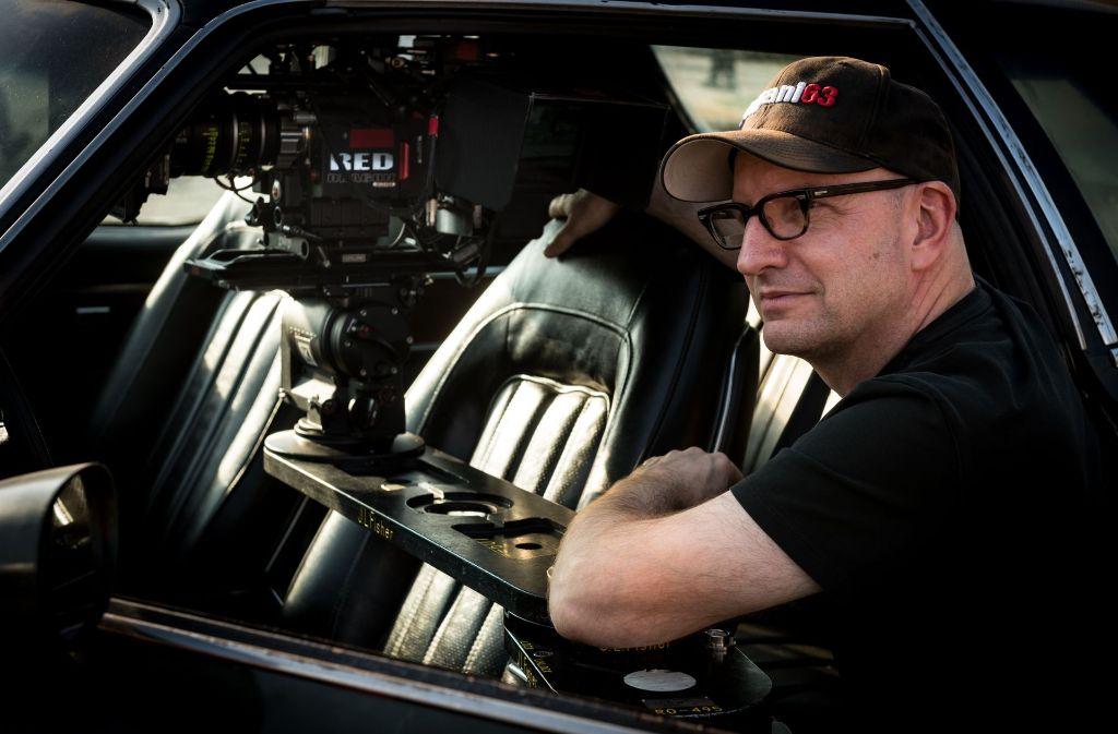 Regisseur Steven Soderbergh bei der Arbeit. Foto: Verleih
