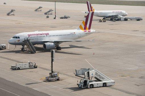 Eine Maschine vom Typ Airbus A319 musste in Stuttgart außerplanmäßig landen. Foto: dpa