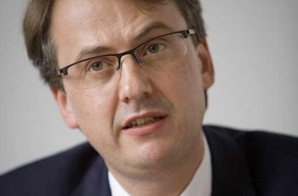 Michael Föll hat Mitglieder des CDU-Kreisverbandes zur Krisensitzung beordert. Foto: Steinert