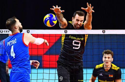 """Für die deutschen Volleyballer heißt es """"Alles oder Nichts"""""""