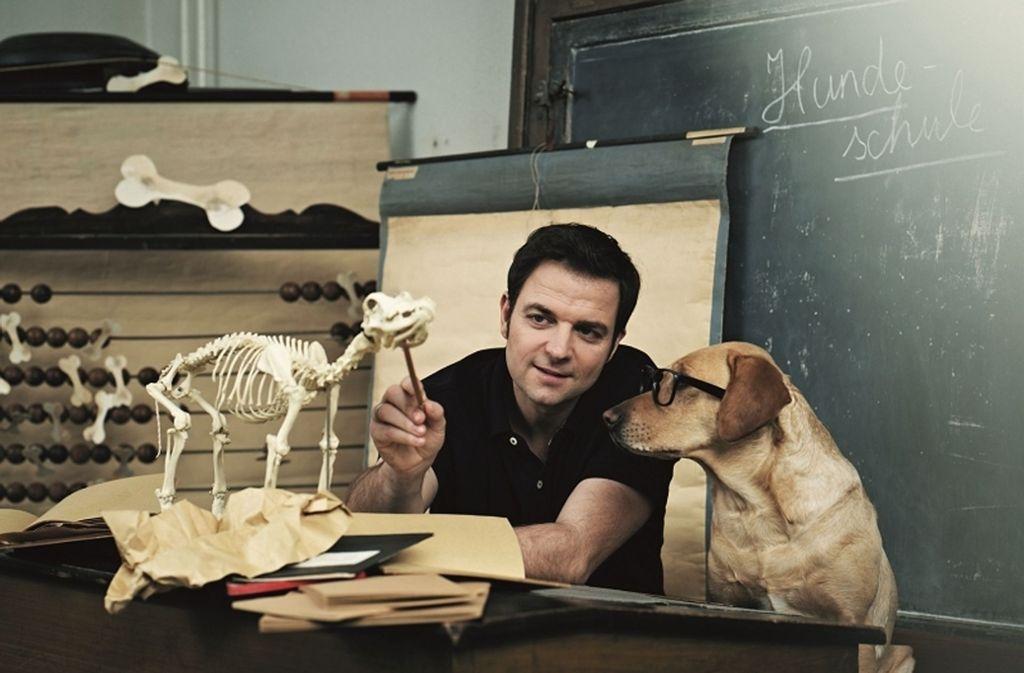 Martin Rütter ist Tiertrainer und inzwischen auch ein erfolgreicher Comedian und Entertainer. Foto: Mina