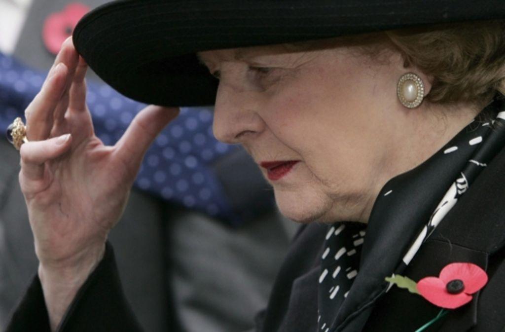 Die Lady hatte stets eine Haltung. Foto: EPA FILE