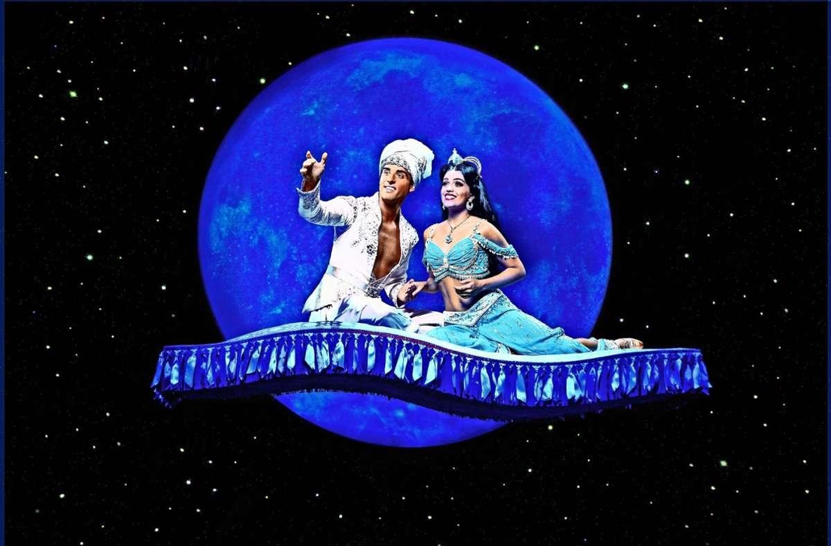 Aladdin schwebt wieder nach Stuttgart Foto: /Foto: Stage/van Meer