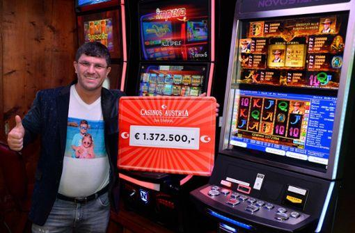 Millionär gewinnt 1,37 Millionen am Automaten