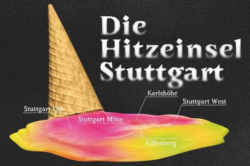 Die Hitzeinsel erklärt, wie Hitze in Stuttgart entsteht