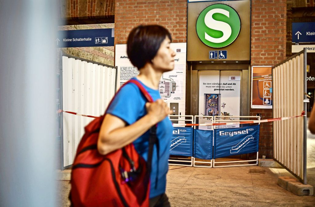 Der neue Aufzug soll am 27. August in Betrieb gehen. Foto: Lichtgut/Max Kovalenko
