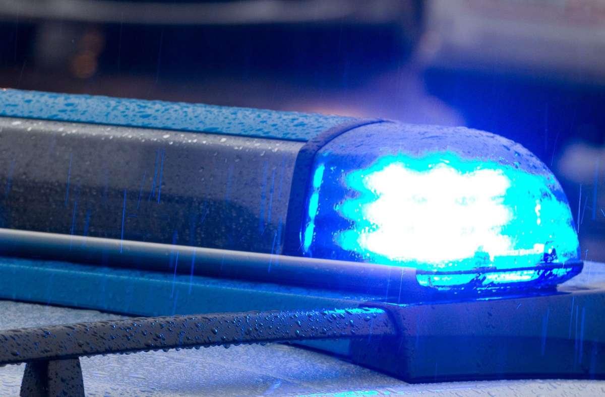 Die Polizei nahm den Tatverdächtigen in Leonberg vorläufig fest. Foto: dpa/Friso Gentsch
